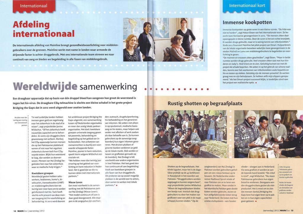 Radboud Spruit Grafkisten artikel Jaarverslag Mailine
