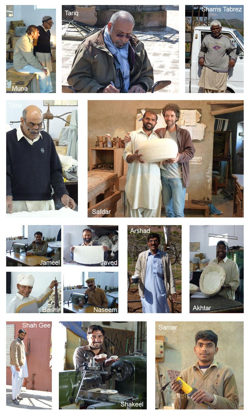 Radboud Spruit Grafkisten medewerkers pakistan