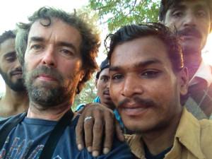 selfie met dakloze 7